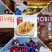 بسته مرکز خرید امارات مال اسکی+بولینگ+سه رستوران+دو کافه