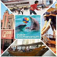 پارک وایلد وادی+اتوبوس بزرگ+دلفیناریوم+ اسکیت روی یخ+قایق زرد و هفت رستوران و کافه