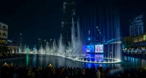 فواره های رقصان دبی Dubai Fountains 2