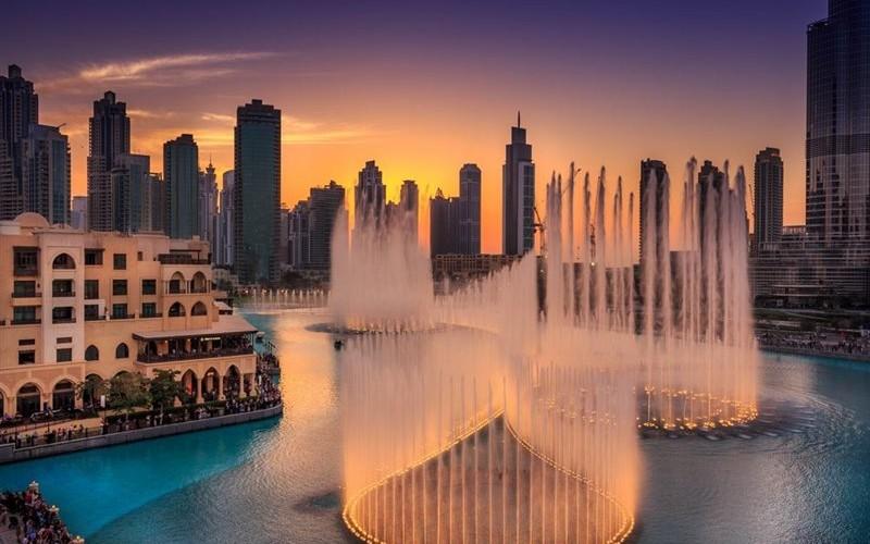 فواره های رقصان دبی Dubai Fountains 7