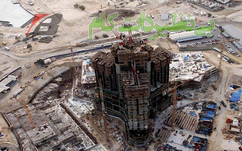 ساخت برج خلیفه