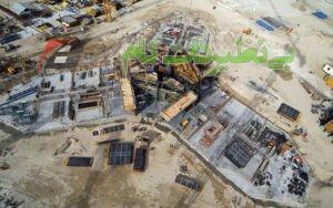 برج خلیفه در حال ساخت